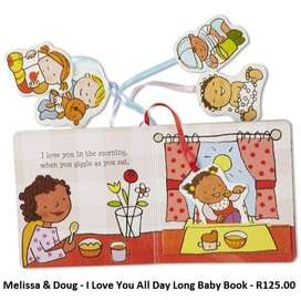 Melissa & Doug - I Love You All Day Long Baby Book