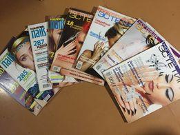 "Журналы ""Ногтевая эстетика"" и ""Hand & nails"" 2010-2011гг"