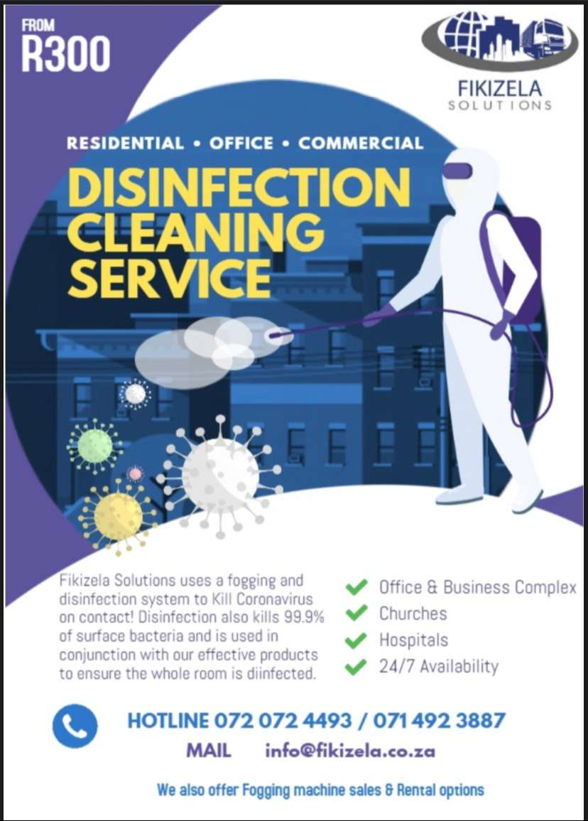 Fogging and disinfection 0