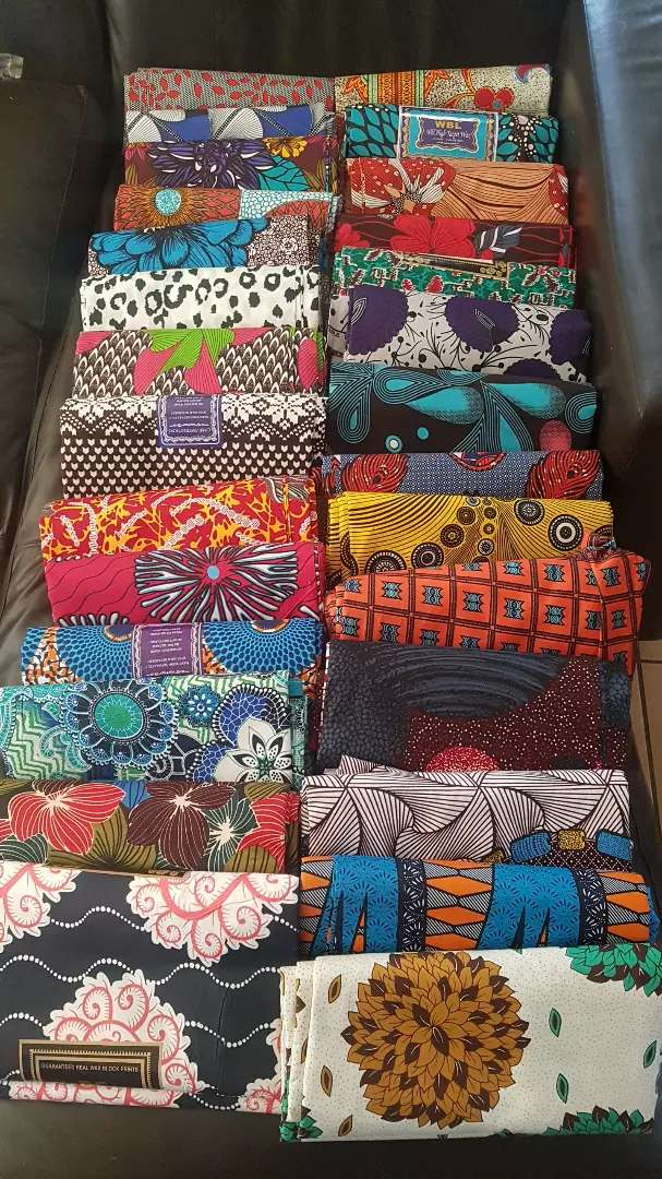 African fabrics and 100% velvet doek for sale 0