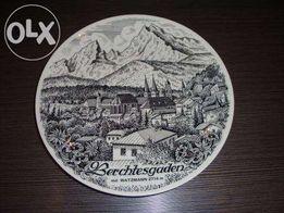 Тарелка Berchtesgaden порцелян Бавария-и другие тарелки из коллекции.