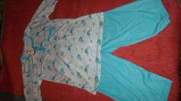 Новая женская трикотажная пижама 44-46 р-р