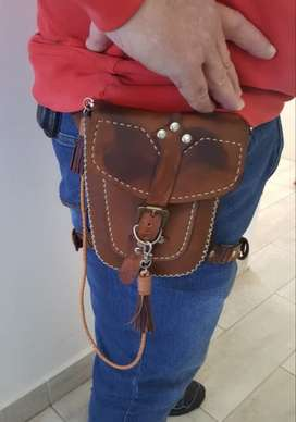 Leather Hip Pouch with strap (order yours today!)