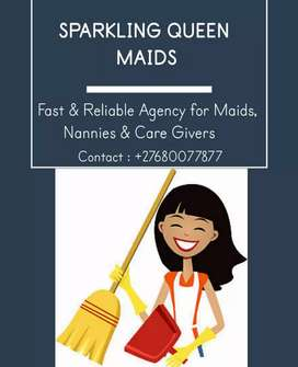 For reliable domestic workers plz contact me asap