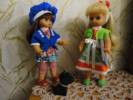 Кукла - лялька немецкая, времен СССР и ГДР, 35 см