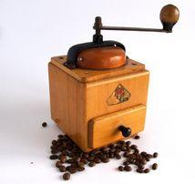 Антикварная коллекционная кофемолка Dienes, 1950-е Germany