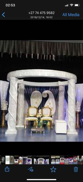 Wedding / stage pillars for sale