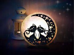 """Соляная лампа """"Свидание на луне"""""""