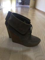 Ботильоны ботинки сапоги полусапожки Bershka Zara