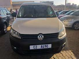 2014 White Volkswagen Caddy 2.0 TDI