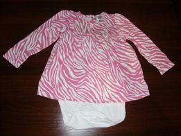 Body z bluzką 2 w 1 dla dziewczynki w rozm.86 Kappahl