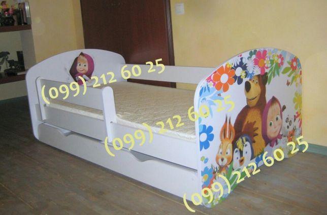 Детская кровать! Съемный защитный бортик! Бесплатная доставка! Одесса - изображение 2