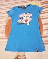 Bluzka, T-shirt BŁĘKIT