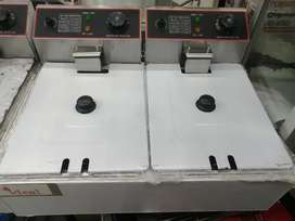 Double chips fryer with 2years waranty