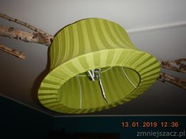 Żyrandol zielony