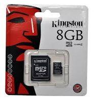 флеш карты памяти SD class 10 - 8 gb
