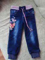 Продам зимние джинсы на девочку