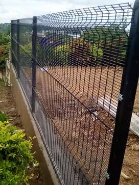 Clearvu precast Fencing and gates