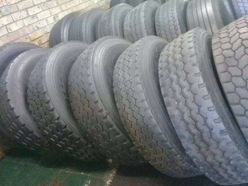 Quality second hand truck tyres available in stock 0