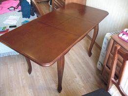 стол обеденный, раздвижной, деревянный