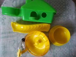 Игрушки для хомячка