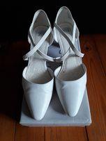 Białe buty ślubne rozmiar 39