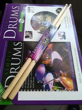 Simply Drums - The total drumming course with drumsticks!!!