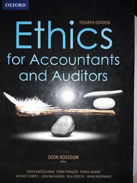 Ethics for Auditors and Accountants textbook