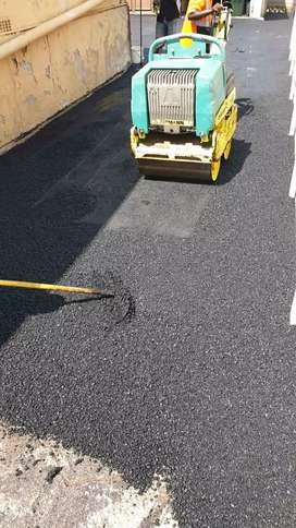 Tar surfacing