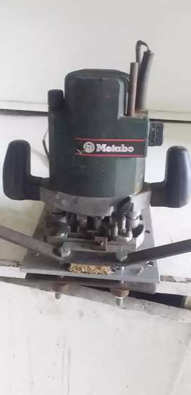 Metabo  Router  machine