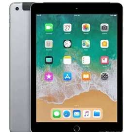 "Apple iPad(6th Gen)9.7"" WiFi + Cellular 32Gb -Space Grey-Sealed"