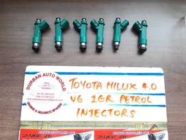 Toyota Hilux 4.0 V6 1GR Petrol Injectors For Sale