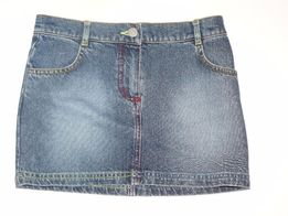 Jeansowa spódnica GEORGE 134 140