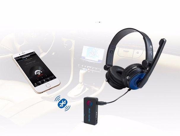 Bluetooth AUX приемник+MP3 ПЛЕЕР SD, гарнитура, беспроводные наушники Кривой Рог - изображение 2
