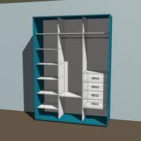 Гардеробная мебель на заказ распашной шкаф витрина шкаф-купе под заказ