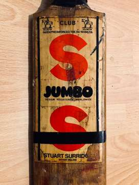Original stuart surridge SS jumbo cricket bat for sale