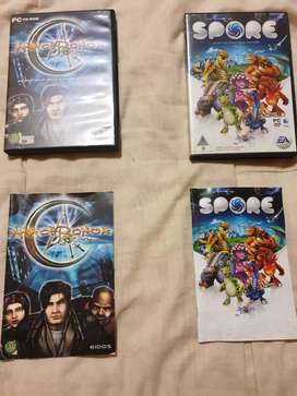Rare PC games for sale discs are in good condition as per pictures.