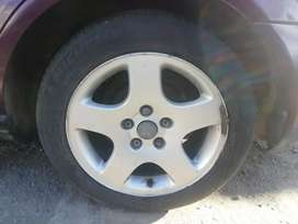 All 4 wheel with Tyres 2500