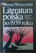 Literatura polska po 1939 roku-DO MATURY