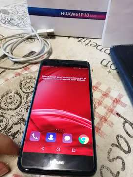 Huawei P10 lite with accessories inbo
