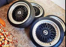 BBS Rims and tyres