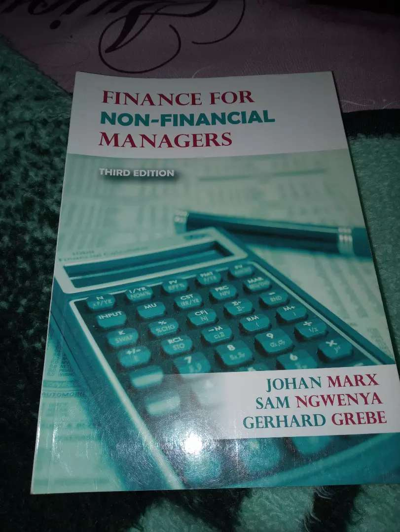 Finance for non financial managers 3rd edition 0