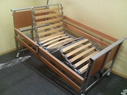 Łóżko rehabilitacyjne, medyczne Elbur PB 325 z barierkami na pliota