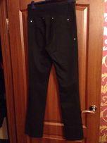Брюки для беременных, черные, штаны.