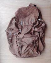 Туристический рюкзак СССР (новый, брезент, кожа) раритет