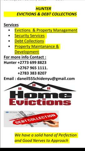 Home eviction &debt collection