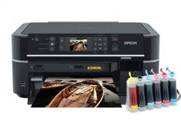 Продаю принтер Epson Stylus Photo TX650 вместе с СНПЧ