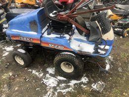 Iseki SF 230 kosiarka traktorek silnik skrzynia koło
