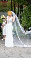 suknia ślubna Madonna rybka rozm. 38