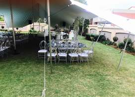 White stretch tent for sale